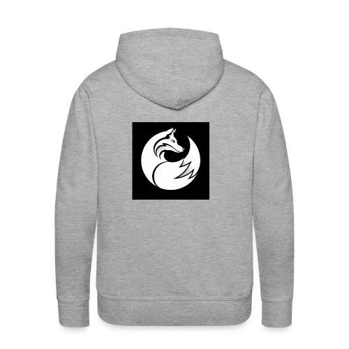 Confident wolf merch - Men's Premium Hoodie