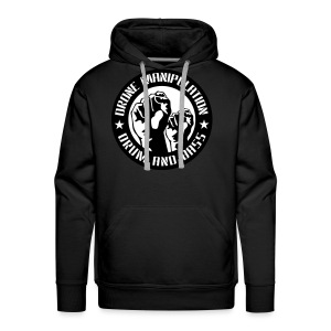 Drone Manipulation FISTS UP - Men's Premium Hoodie