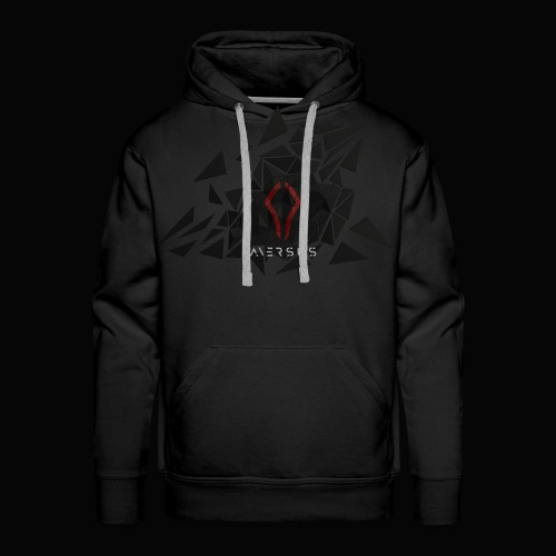Aversus - Logo + Name - Men's Premium Hoodie