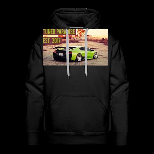 Slammed Lamborghini Murcielago - Men's Premium Hoodie