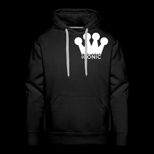 Iconic (Crown/Logo) - Men's Premium Hoodie