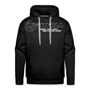 NightFall w/ Slogan - Men's Premium Hoodie
