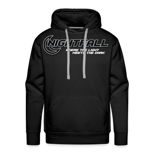 NightFall w/ Slogan - Men's Premium Hoodie