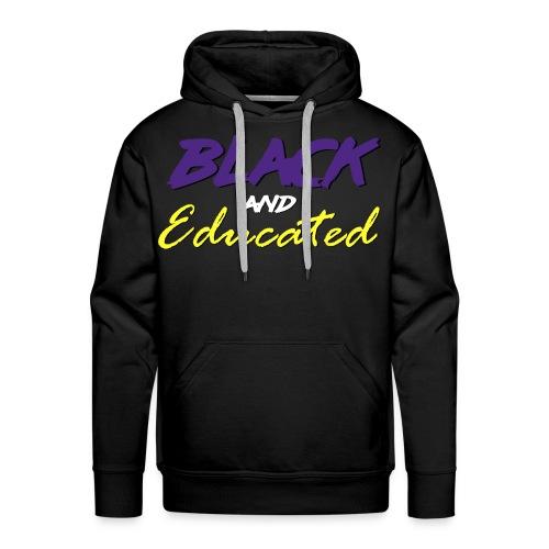 Louisiana State Unvi. - Black and Educated 2 - Men's Premium Hoodie