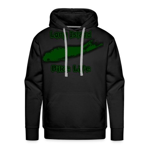 Long Island Bike Life (GREEN) - Men's Premium Hoodie