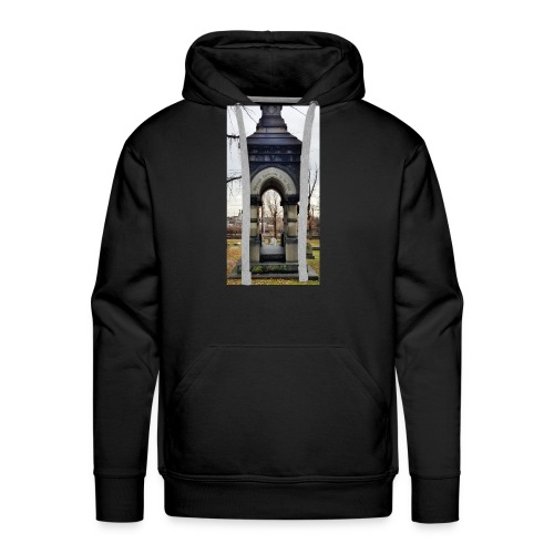 through the darkness - Men's Premium Hoodie