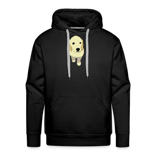 Golden Retriever puppy - Men's Premium Hoodie