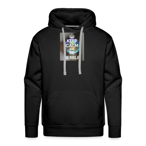 Keep Calm And Be Bebble - Men's Premium Hoodie