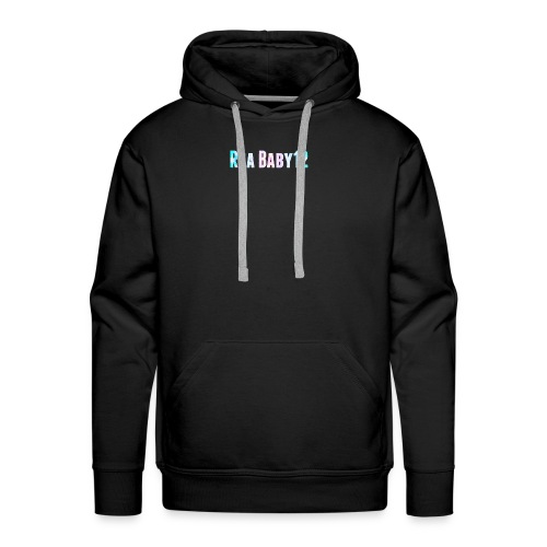 Rea Baby12 YouTube Channel Name - Men's Premium Hoodie