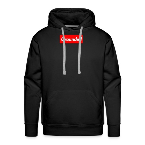 Grounded Box Logo - Men's Premium Hoodie