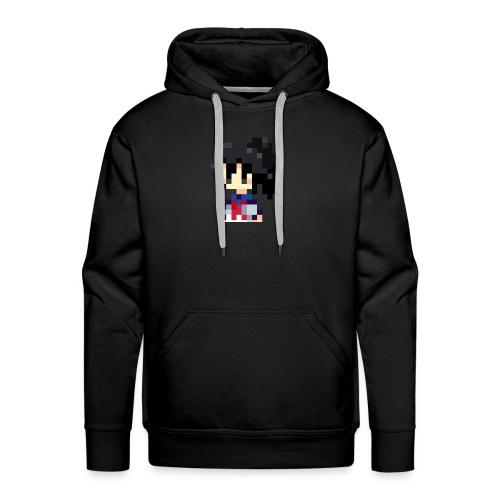 pixel manyland yandere Lara - Men's Premium Hoodie