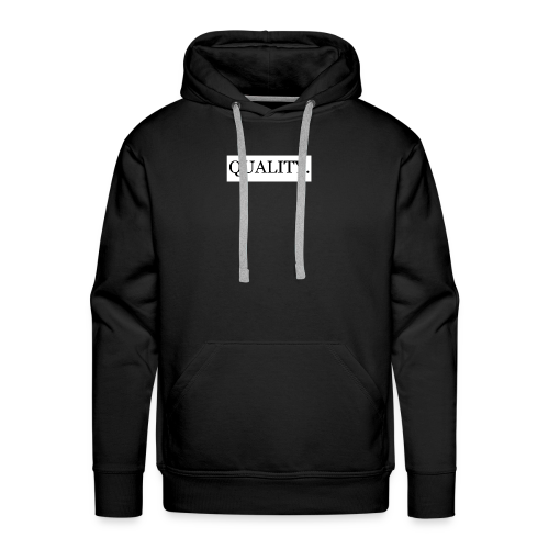 Quality Brand - Black - Men's Premium Hoodie