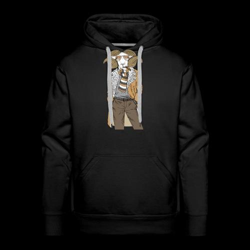 Mr. Goat - Men's Premium Hoodie