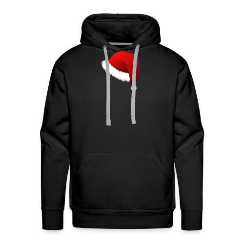 Carmaa Santa Hat Christmas Apparel - Men's Premium Hoodie