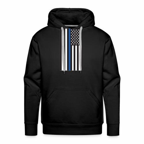 Thin Blue Line - Men's Premium Hoodie