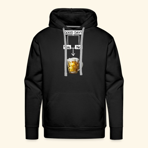 Problem Solving With Beer - Men's Premium Hoodie
