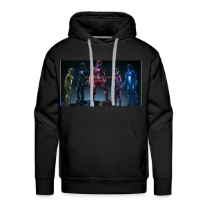Boiis power ranger cosplay - Men's Premium Hoodie