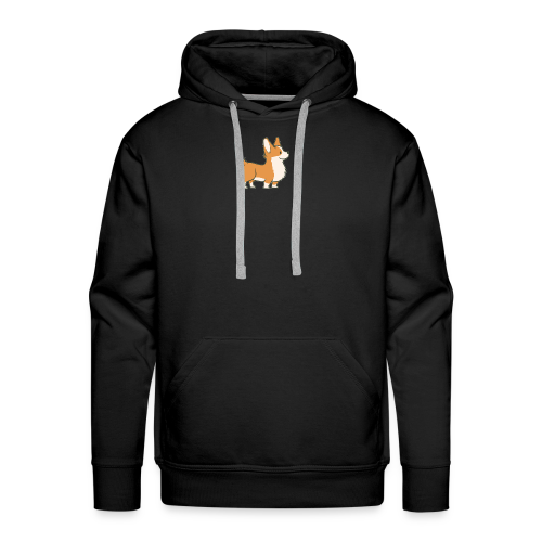 happy dog - Men's Premium Hoodie