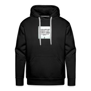 for my gf chloe - Men's Premium Hoodie