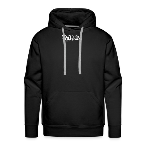 Frillin text transparent - Men's Premium Hoodie