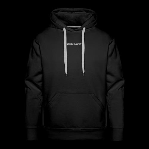 'Black' Aesthetic Anarchy - Men's Premium Hoodie