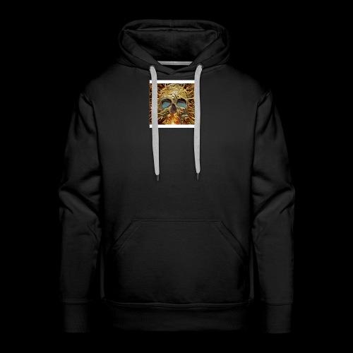 Golden skull - Men's Premium Hoodie