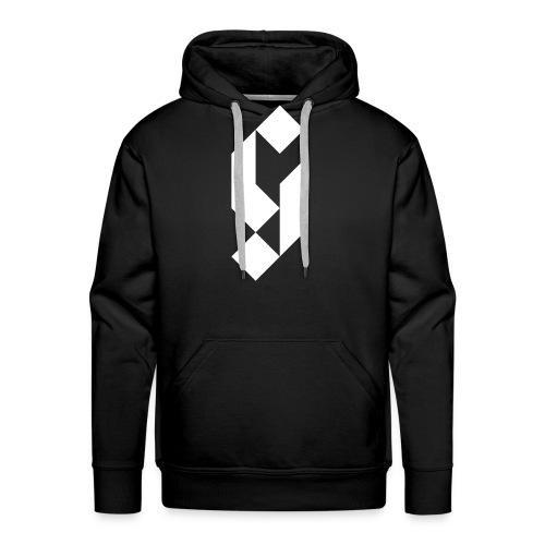 G Initial Glmn Logo - Men's Premium Hoodie