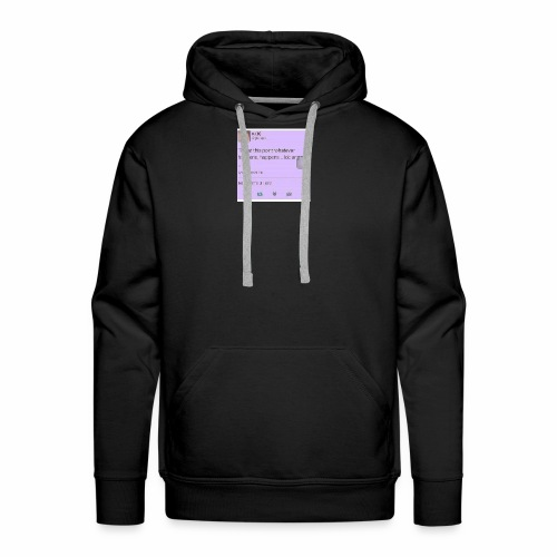 Idc anymore - Men's Premium Hoodie