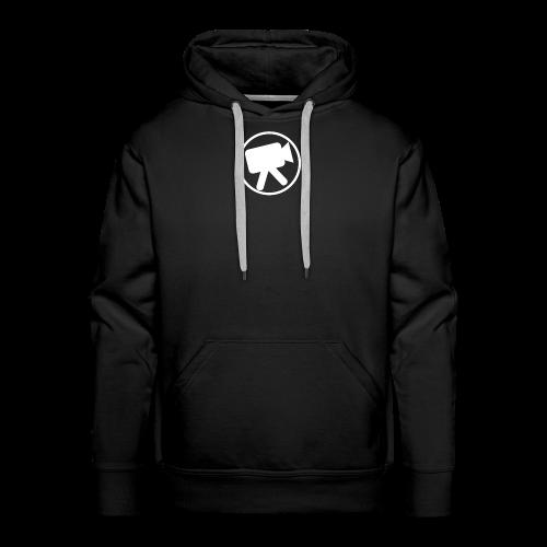 logo_wit_videotijd - Men's Premium Hoodie
