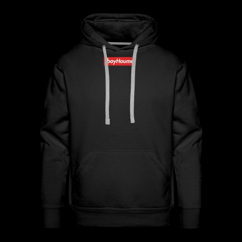 TboyHouma Supreme Logo Merch - Men's Premium Hoodie