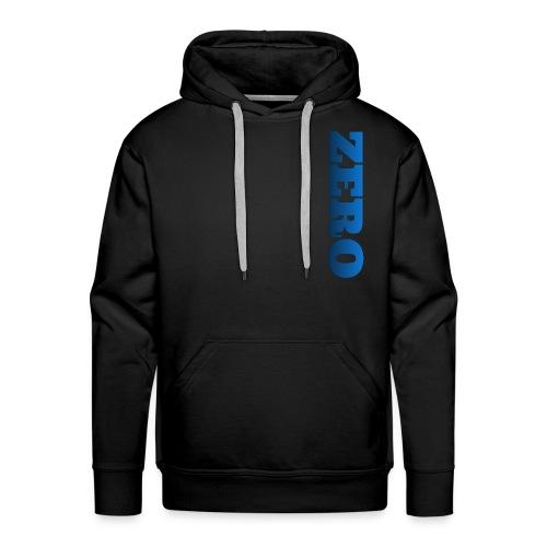 Blue/Black LOGO - Men's Premium Hoodie