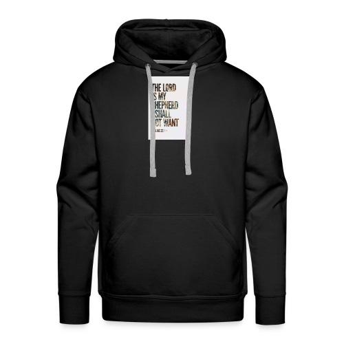 The Lord is my sheperd - Men's Premium Hoodie