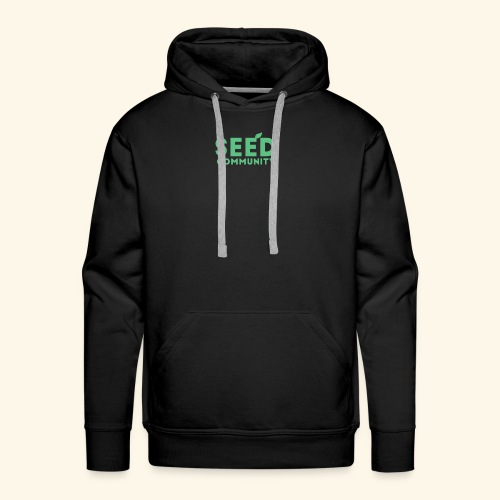 SEED Community Logotype - Green - Men's Premium Hoodie
