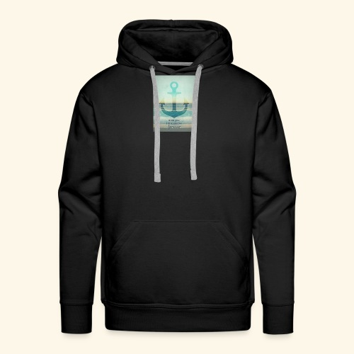 God is my anchor - Men's Premium Hoodie