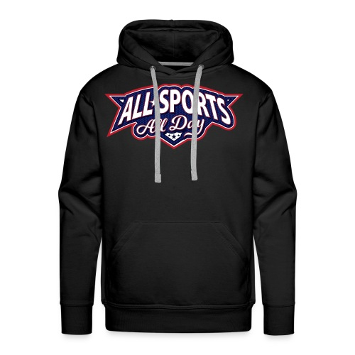 All Sports All Day Logo - Men's Premium Hoodie
