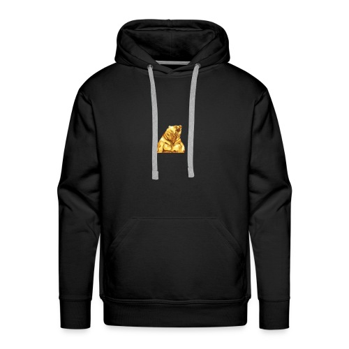 Gold bear - Men's Premium Hoodie