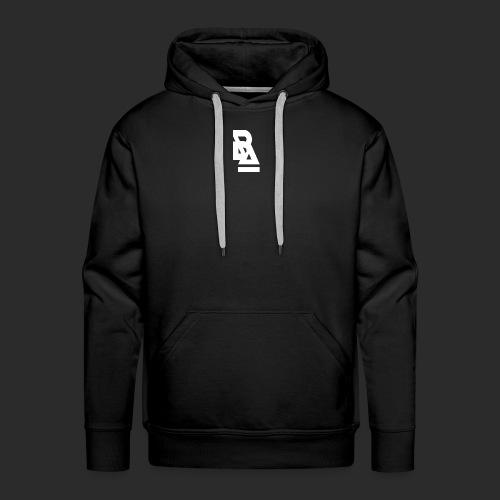 White Official BlizzardArtz Logo - Men's Premium Hoodie