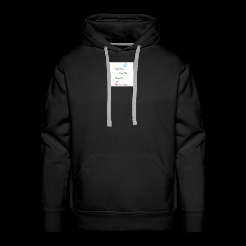 storms and anchors - Men's Premium Hoodie