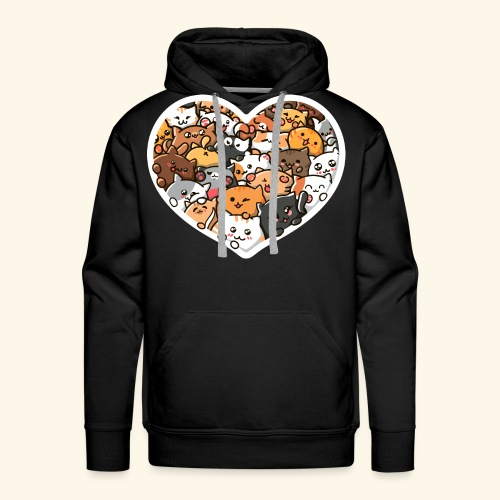 Cute Cats - Men's Premium Hoodie