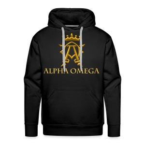 ALPHA OMEGA - Men's Premium Hoodie