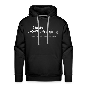 Oasis Prepping Logo - Men's Premium Hoodie