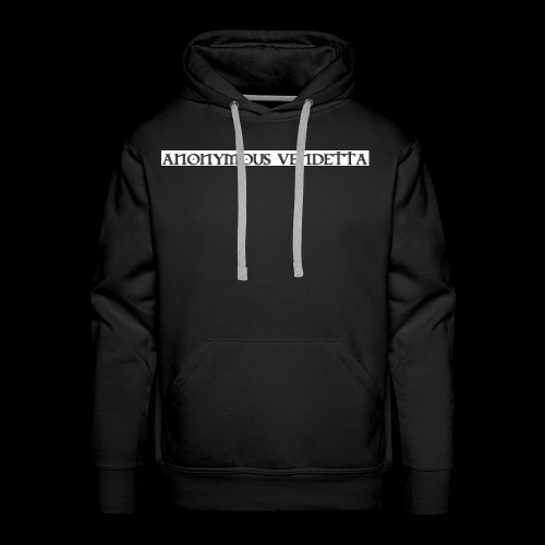 Anonymous Vendetta - Men's Premium Hoodie