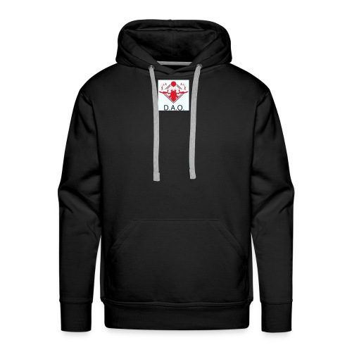 Dominate All Obstacles - Men's Premium Hoodie