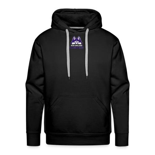 Huskies Logo #2 - Men's Premium Hoodie