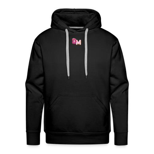 DM doughnut design - Men's Premium Hoodie