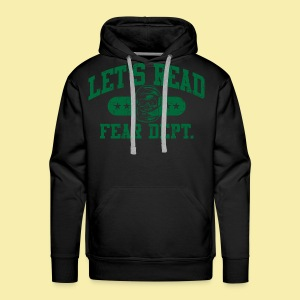 Athletic Green - Inverted for Dark Shirts - Men's Premium Hoodie