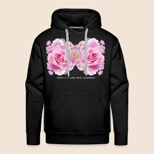 Flower Bra - Men's Premium Hoodie