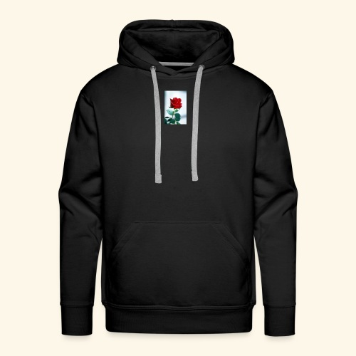 Kiss by a rose - Men's Premium Hoodie