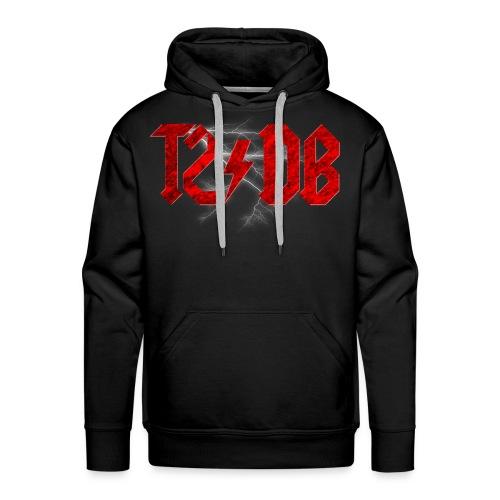 T2/DB AC/DC Style - Men's Premium Hoodie