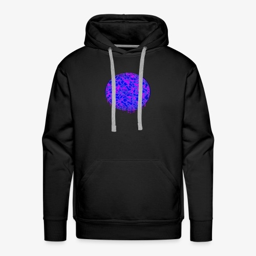 Radioactive circle - Men's Premium Hoodie